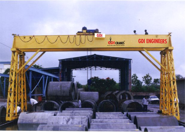 Goliath Gantry Cranes Manufacturers in Ludhiana