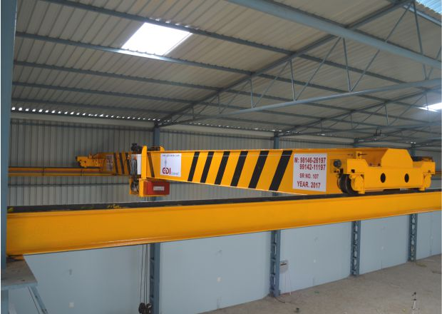 Single Girder EOT Cranes Manufacturers in Ludhiana