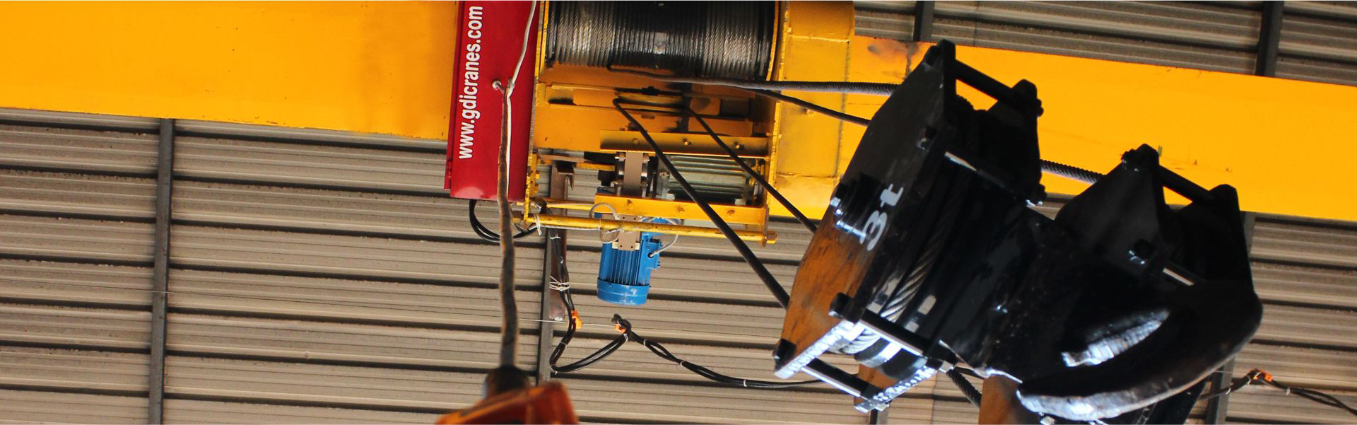 Electric wire rope hoist manufacturers in Ludhiana Punjab India